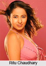 Ritu Chaudhary, Indian Television Actress