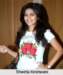 Shweta Keshwani, Indian TV Actress