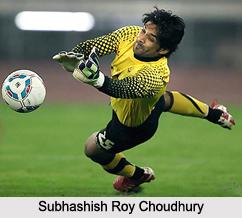 Subhashish Roy Choudhury , Football Player