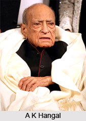 A K Hangal, Bollywood Actor