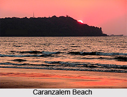Caranzalem Beach, Goa