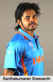 Santhakumaran Sreesanth, Indian Cricket Player