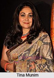 Tina Munim, Indian Actress