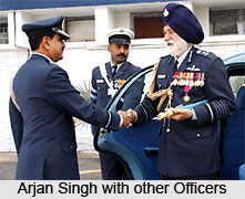 Coronation of Arjan Singh, Indian Air Force Marshal