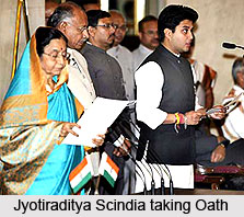 Jyotiraditya Scindia, Indian Politician