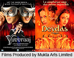 Mukta Arts Limited, Indian Production House