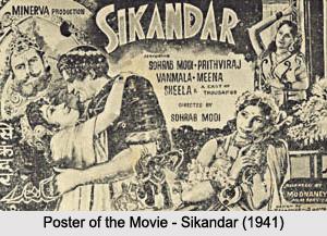 Sohrab Merwanji Modi ,   Indian Film Maker