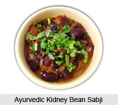 Ayurvedic Kidney Bean Sabji