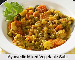 Ayurvedic Mixed Vegetable Sabji