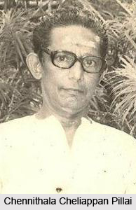 Chennithala Cheliappan Pillai, Indian Kathakali Dancer