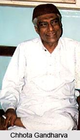 Chhota Gandharva, Indian Theatre Personality