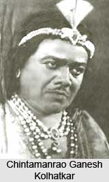 Chintamanrao Ganesh Kolhatkar, Indian Theatre Personality