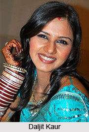 Daljit Kaur, Indian TV Actress