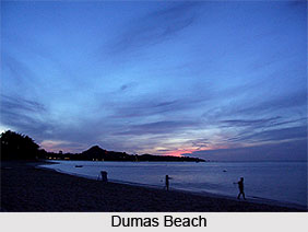 Dumas Beach, Gujarat