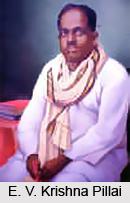 E. V. Krishna Pillai, Malayalam Theatre Personality