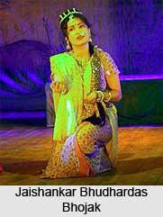Jaishankar Bhudhardas Bhojak 'Sundari', Indian Theatre Personality