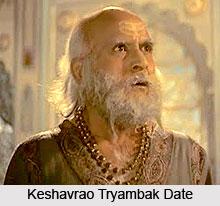 Keshavrao Tryambak Date, Indian Theatre Personality