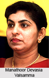 Manathoor Devasia Valsamma , Indian Athlete