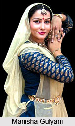 Manisha Gulyani,  Indian Dancer