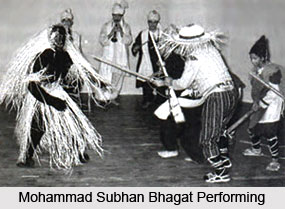 Mohammad Subhan Bhagat, Indian theatre personality