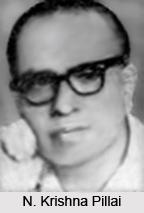 N. Krishna Pillai, Malayalam Theatre Personality
