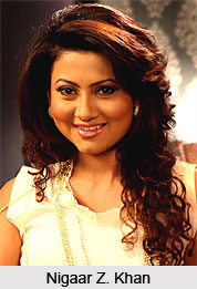 Nigaar Z. Khan , Indian TV Actress