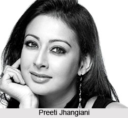 Preeti Jhangiani, Indian Actress
