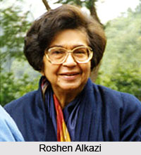 Roshen Alkazi, Indian Theatre Personality