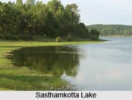 Sasthamkotta Lake, Kollam District, Kerela
