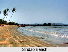 Siridao Beach, Goa
