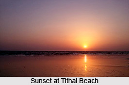 Tithal Beach, Valsad District, Gujarat