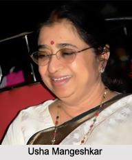 Usha Mangeshkar, Indian Playback Singer