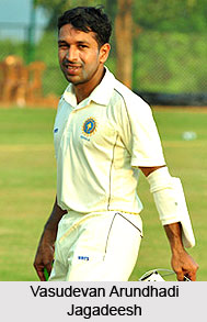 Vasudevan Arundhadi Jagadeesh, Kerala Cricketer
