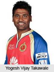 Yogesh Vijay Takawale, Maharashtra Cricketer