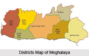 Districts of Meghalaya