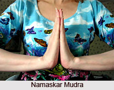 Namaskar and Anjali Mudra