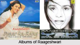 Raageshwari, Indian Singer