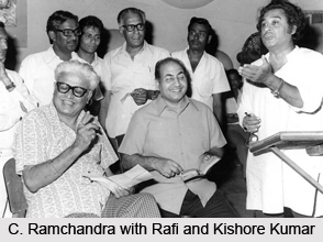C. Ramchandra, Indian Movie Music Director