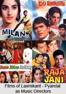 Laxmikant-Pyarelal, Indian Movie Music Directors