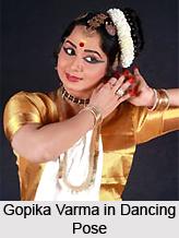 Gopika Varma , Mohiniyattam Dancer