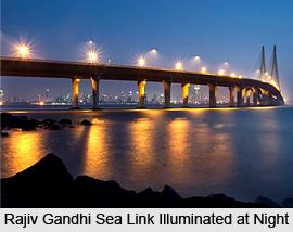 Rajiv Gandhi Sea Link, Mumbai, Maharashtra