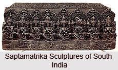 Saptamatrika Sculptures of South India