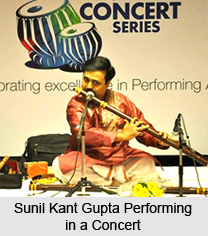 Sunil Kant Gupta, Indian Flautist