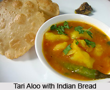 Tari Aloo, Indian Vegetables