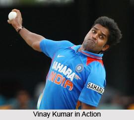 Vinay Kumar, Indian Cricket Player