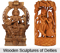 Indian Wooden Sculpture