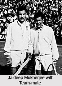 Jaideep Mukherjee, Indian Tennis Player