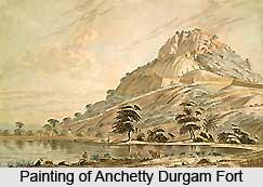 Anchetty Durgam Fort, Tamil Nadu
