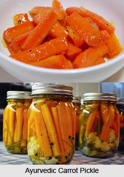 Ayurvedic Carrot pickle