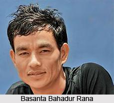 Basanta Bahadur Rana, Indian Athlete